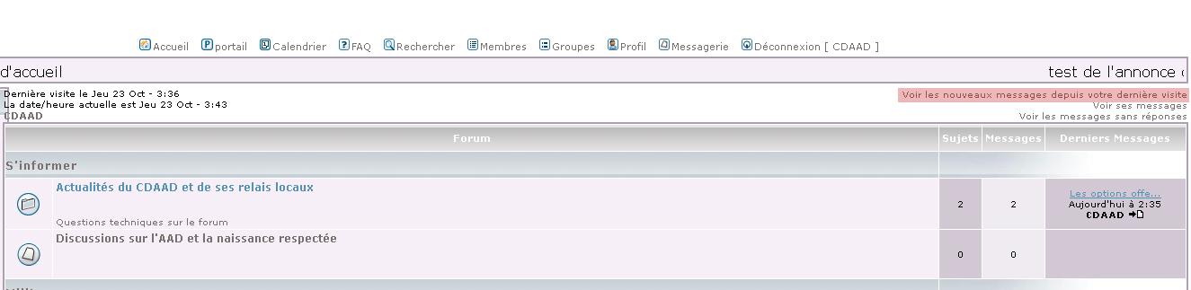FAQ - CDAAD Faq-voir-tous-les-derniers-messages