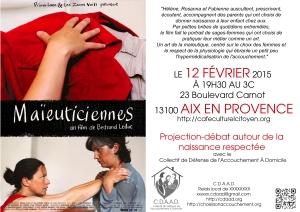 affiche annonce Maieuticiennes 3C