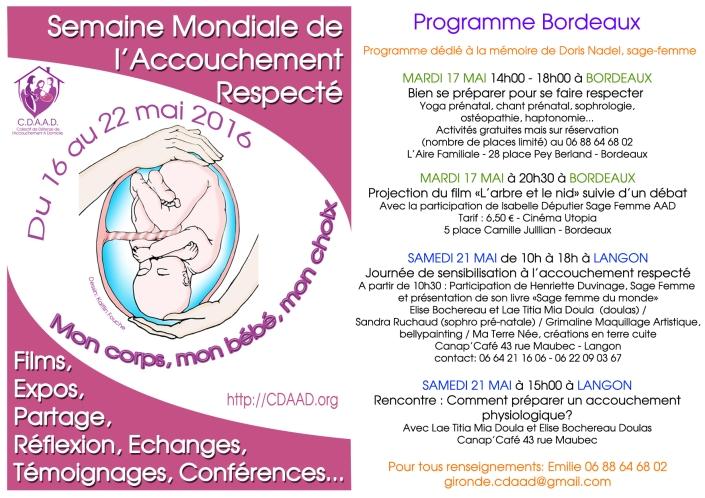 Affiche Smar 2016 programme Bordeaux copie