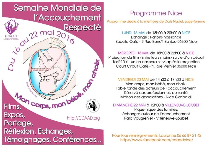 Affiche Smar 2016 programme Nice copie