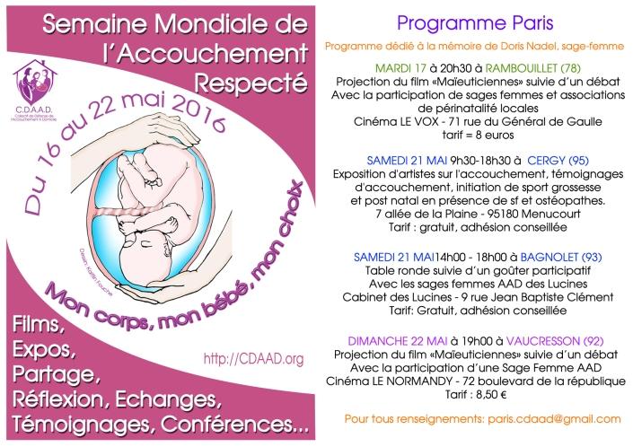 Affiche Smar 2016 programme Paris-2 copie