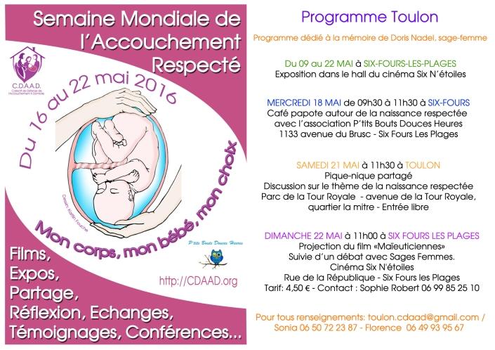 Affiche Smar 2016 programme Toulon-1 copie
