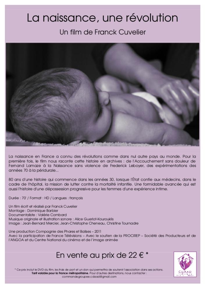 Visuel La naissance une révolution(1)